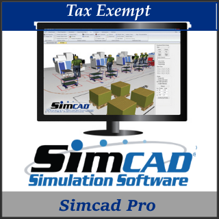 Picture of Simcad Process Simulator (Tax Exempt)