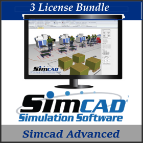 Picture of Simcad Pro Advanced (3 License Bundle)