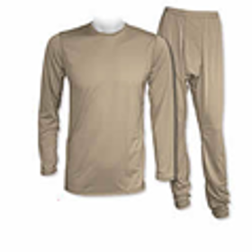 Picture of LIGHT WEIGHT COLD WEATHER UNDERSHIRT-LARGE REGULAR-DESERT SAND