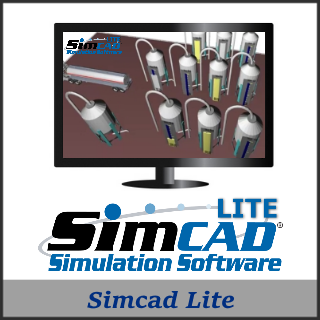 Picture of Simcad Lite - Process Simulation Software