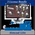 Picture of Simcad Pro Lite ( 3 License Bundle) - Process Simulation Software
