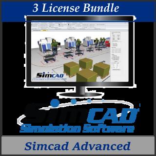 Picture of Simcad Pro Advanced (3 License Bundle)